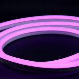 Luz de neón ultra fina blanca/roja/del azul/del verde fresca de la flexión LED de la flexión de la cuerda
