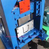 Grondaia d'acciaio di colore che forma macchina