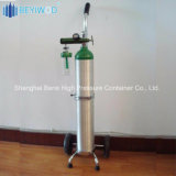 Zylinder-Laufkatze der China-medizinische Stahlsauerstoffbehälter-Flaschen-Karren-50L