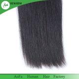 Cheveux humains les plus épais dessinés par double de qualité droite péruvienne de cheveu