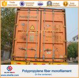 De Vezel van het Polypropyleen van de golf pp voor het Concrete Versterken van het Cement