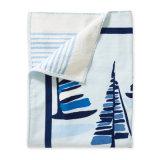 100%年の綿が付いているテリーの浴室手のビーチタオル