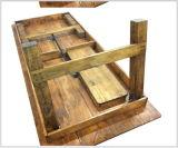 Masía plegable de madera al aire libre comedor Muebles de las tablas de la cerveza de boda