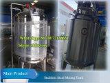 Camisa de depósito mezclador de vapor de 1000L