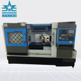 De cama plana Torno CNC con 230mm Max Bascule diapositiva