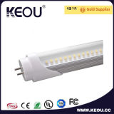 투명한 Cover 1.2m 18W LED T8 Tube