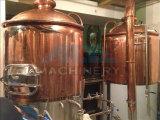 Acciaio inossidabile o strumentazione di passata di rame rossa di saccarificazione di rivestimento dello specchio di /Brewery della strumentazione di preparazione della birra