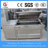 Máquina automática personalizada da lavagem e de casca da cenoura do rolo da escova