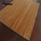 ASTM Ideabond certifié populaires en bois revêtu de PE panneau composite aluminium