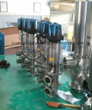 Sanitary Stainless Steel Pneumatic Change Over Valve