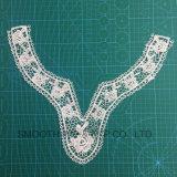 Tessuto dell'accessorio dell'indumento della nappa del collare del merletto del ricamo del Crochet di modo di promozione