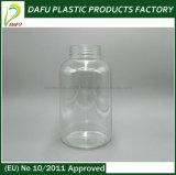 Bottiglia di plastica dell'animale domestico 750ml per il grande contenitore delle capsule