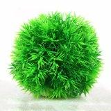 魚飼育用の水槽のプラントアクアリウムの装飾のプラスチックコケの球