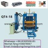 Machine de fabrication de brique complètement automatique et hydraulique, vendant la machine de fabrication de brique automatique bonne