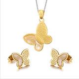 De Juwelen van de Manier van de Juwelen van de Vlinder van de Juwelen van het roestvrij staal (hdx1089)