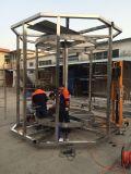 De plastic Spiraalvormige Machine van de Transportband, de Machine van de Transportband van het Roestvrij staal