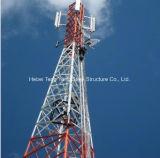 HDG Ângulo de treliça Torre de comunicação de microondas de aço fabricados na China
