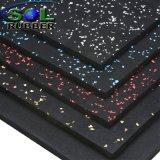 De commerciële Mat van de Bevloering van het Broodje van de Gymnastiek van de Geschiktheid Rubber