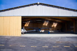 Prefabricated 가벼운 강철 구조물 항공기 격납고