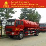 上10000LクリーニングのタンカーHOWOの下水の吸引のトラック
