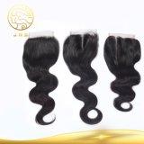 安いバージンのブラジルの人体の波の黒の人間の毛髪の織り方