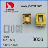 K9 Crystal Beads para accesorios de prendas de vestir (DZ3006)