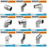 ステンレス鋼の管の適用範囲が広い肘の鋳造