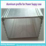 Geval van de Levering van de Macht van de Oppervlaktebehandeling van het Profiel van /Aluminium van de Uitdrijving van het Aluminium van China het Uitstekende