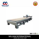 Máquina de madera del grabador de Multihead del ranurador de la fresadora del CNC