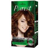 A luz a mais pura Brwon do creme da cor do cabelo do uso da casa da amônia livre