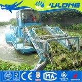 Buena función y de alta capacidad de cosechadora de maleza acuática totalmente automática
