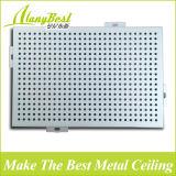 Panneau de plafond en aluminium personnalisé de modèle d'onde de taille