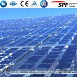Solar de vidro temperado com ferro baixa