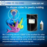 Resin Diamond Molding를 위한 주입 Molding Silicone Rubber