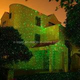 Lichten van de Laser van Kerstmis van de Laser van de Ster van de nacht de Lichte, Rode/Groene Openlucht