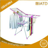 Draht Towl faltbare Kleid-Trockner-Bildschirmanzeige-Kleidung-Aufhängungs-Zahnstange oben knallen