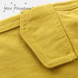 Scherzt Abnützung 100% der Baumwollkinder Kleidungs-Jungen-Reißverschluss-Kurzschlüsse