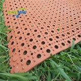 Hight qualité porte anti-patinage tapis en caoutchouc, tapis en caoutchouc creux