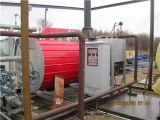 Gas de alta eficiencia del calentador de fluido térmico