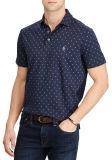 Le classique en bonne santé Doux-Touchent des chemises de polo d'impression par points de cloque en gros