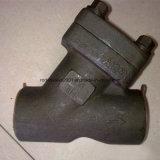 ASME tipo Y da válvula de retenção de aço forjado