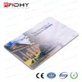 tarjeta dual de la frecuencia RFID del PVC de la voz pasiva escribible 13.56MHz para el control de acceso