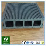 Decking plástico de madera al aire libre del compuesto WPC de la sección hueco con Ce
