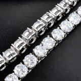 Bridal Jewelry White Gold Cubic Zircon Wedding Necklace