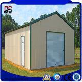 Structure métallique préfabriquée facile de grande envergure d'installation pour le garage