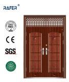 Unstandard barato Steel Door com Air Window (RA-S182)
