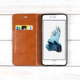 Funda de cuero Flip Titulares de tarjetas de crédito para iPhone 6s Plus