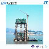 Nuova gru a torre del caricamento massimo 4t Topkit di arrivo per il macchinario di costruzione