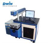 Machine à grande vitesse d'inscription de laser de CO2 pour le cuir/composantes électroniques