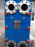 Aleación de acero inoxidable 316 de la placa de vapor de las placas de intercambiador de calor con boquillas de acero al carbono Ts6m)